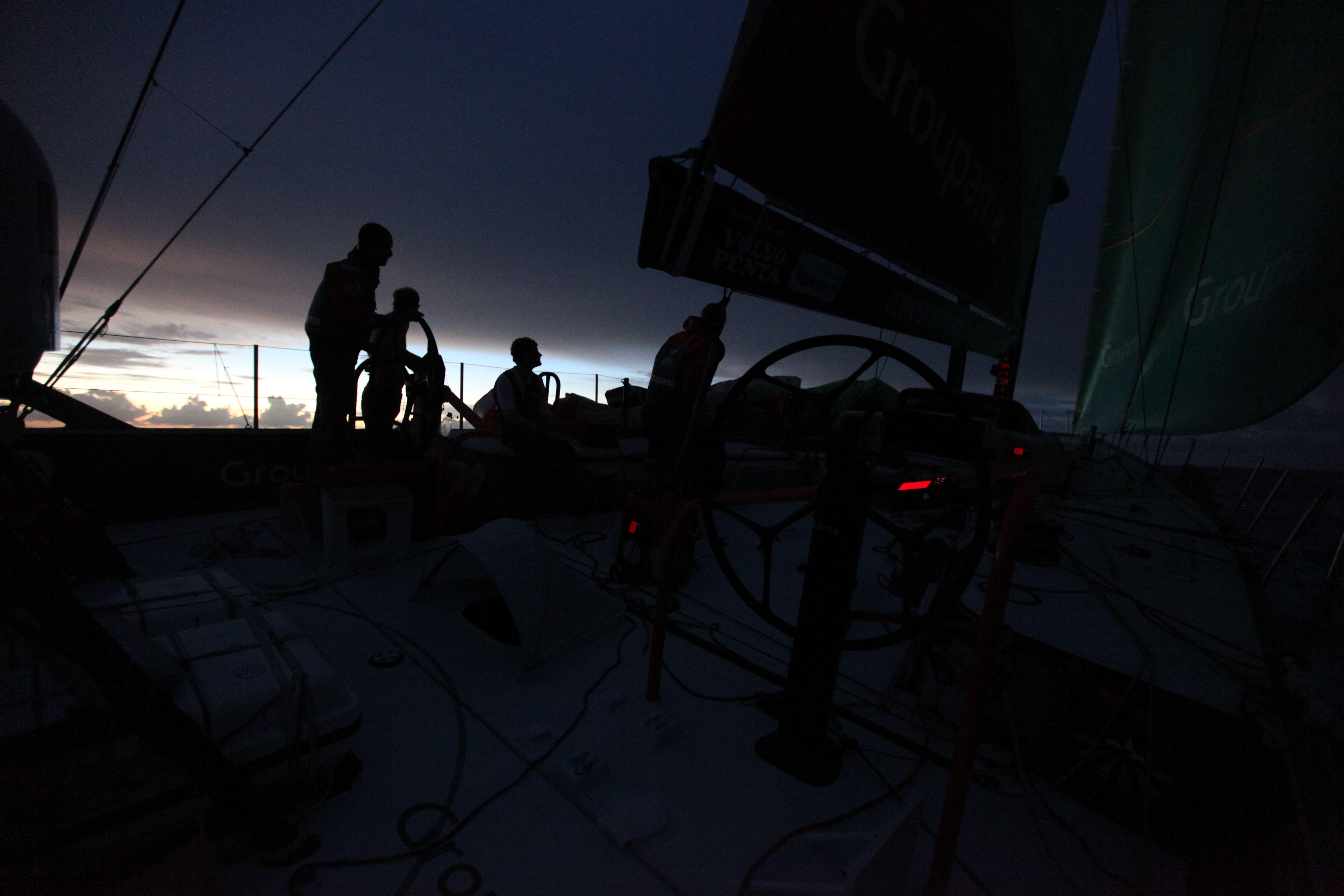 Leg 4 - Day 14 - Groupama in the Volvo Ocean Race