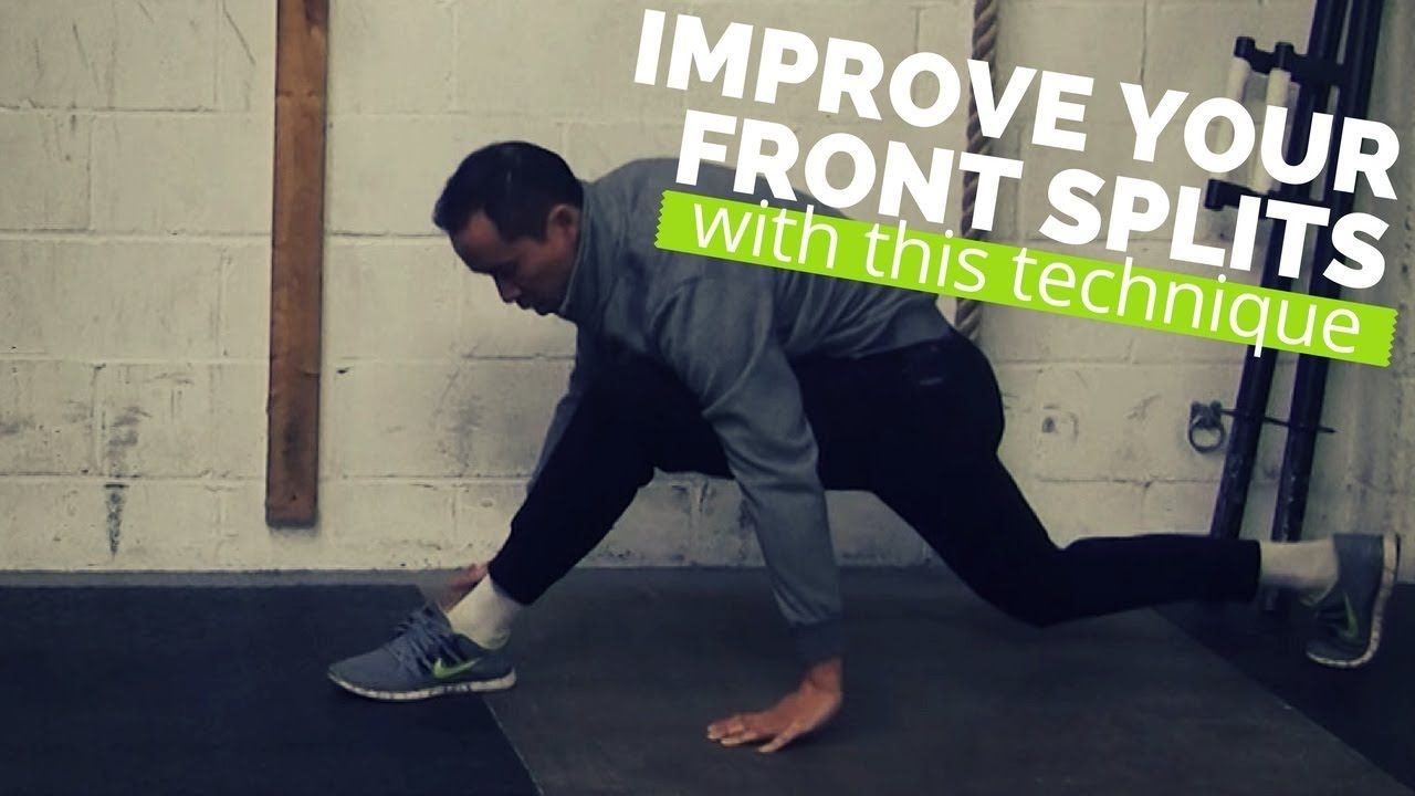 Technique for Front Splits Mobility The Controlled