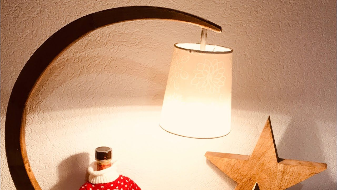 Diy Bogenlampe Tischlampe Youtube Bogenlampe Tischlampen Und Lampen