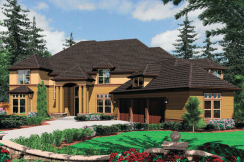 Craftsman Style House Plan 5 Beds 6 5 Baths 6391 Sq Ft Plan 48 356 Luxury Plan Craftsman Style House Plans House Plans