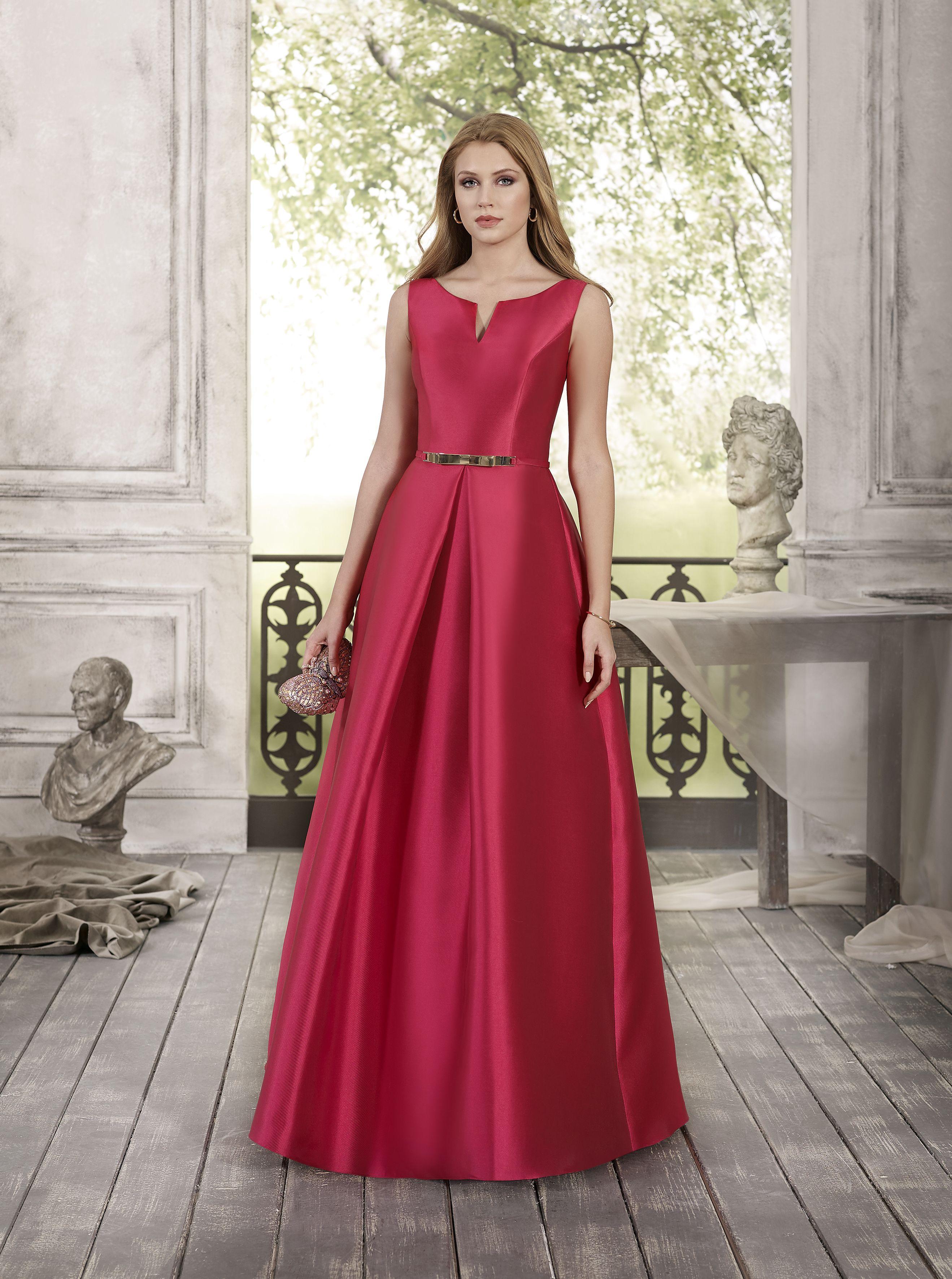 Vestido de Fiesta de Fara Fiesta - 6139  wedding  bodas  boda  bodasnet 893799e55333
