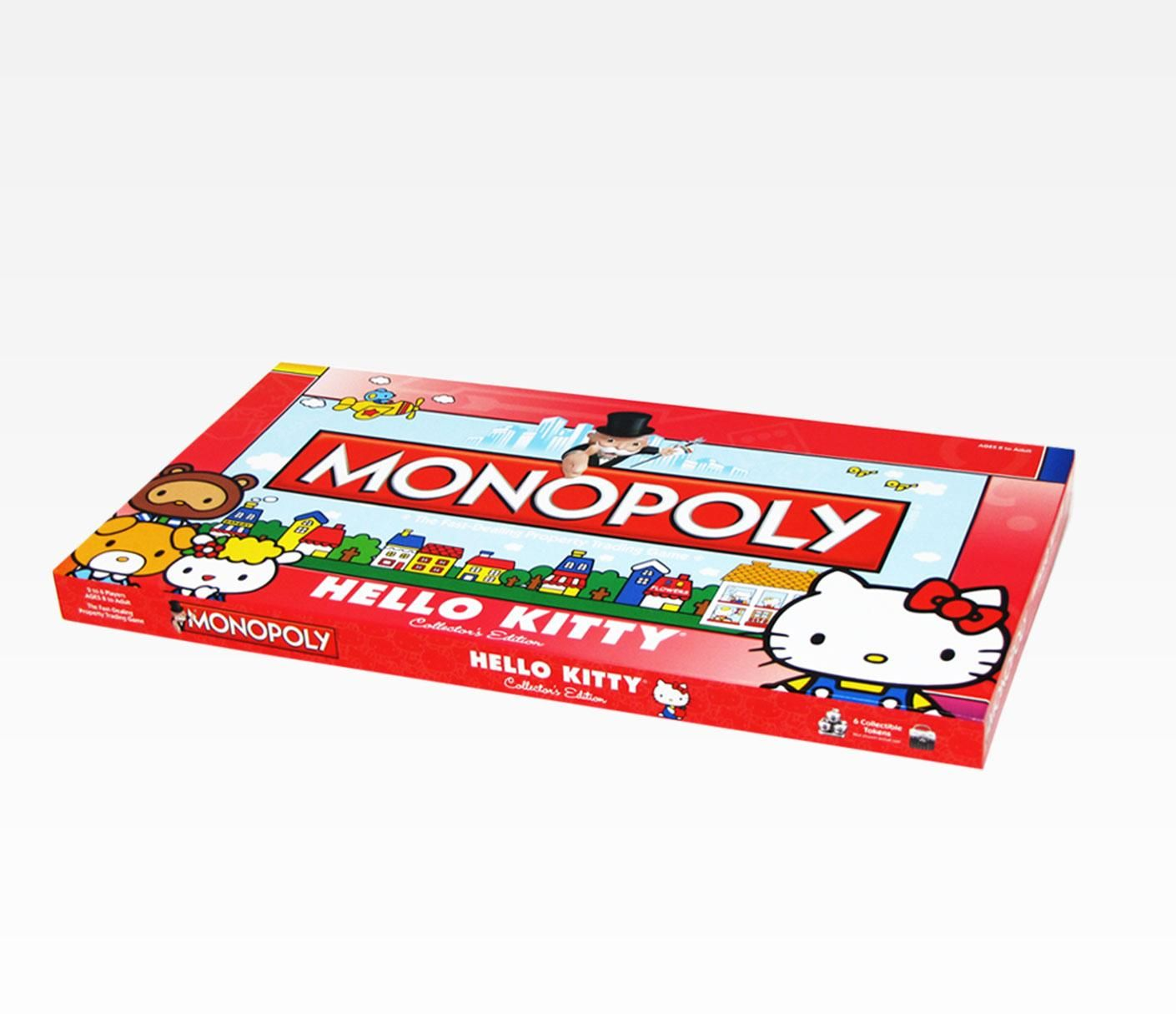 Hello Kitty Collector's Edition Monopoly Board Game