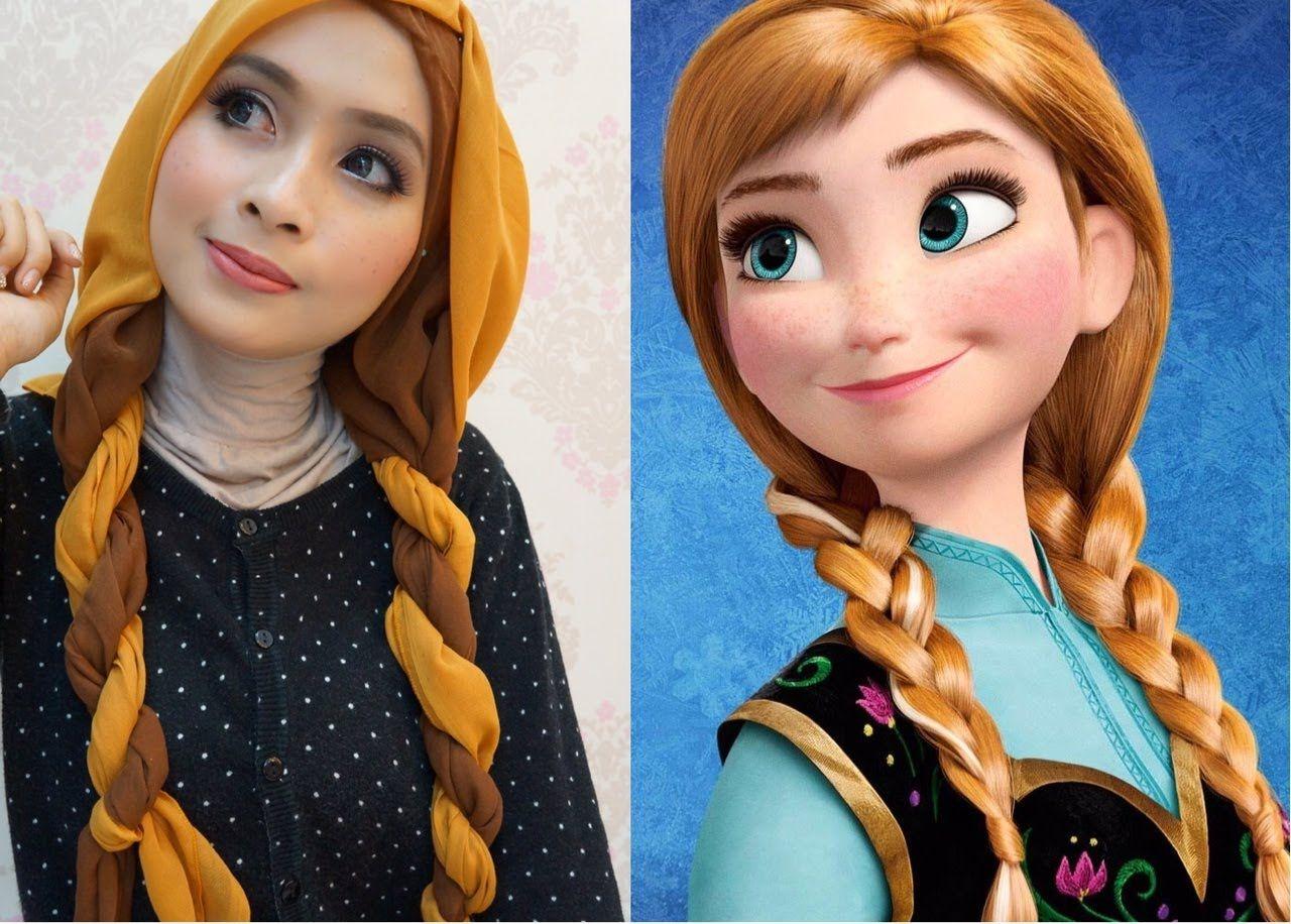 Disneys princess anna frozen inspired makeup tutorial 1 disneys princess anna frozen inspired makeup tutorial baditri Image collections