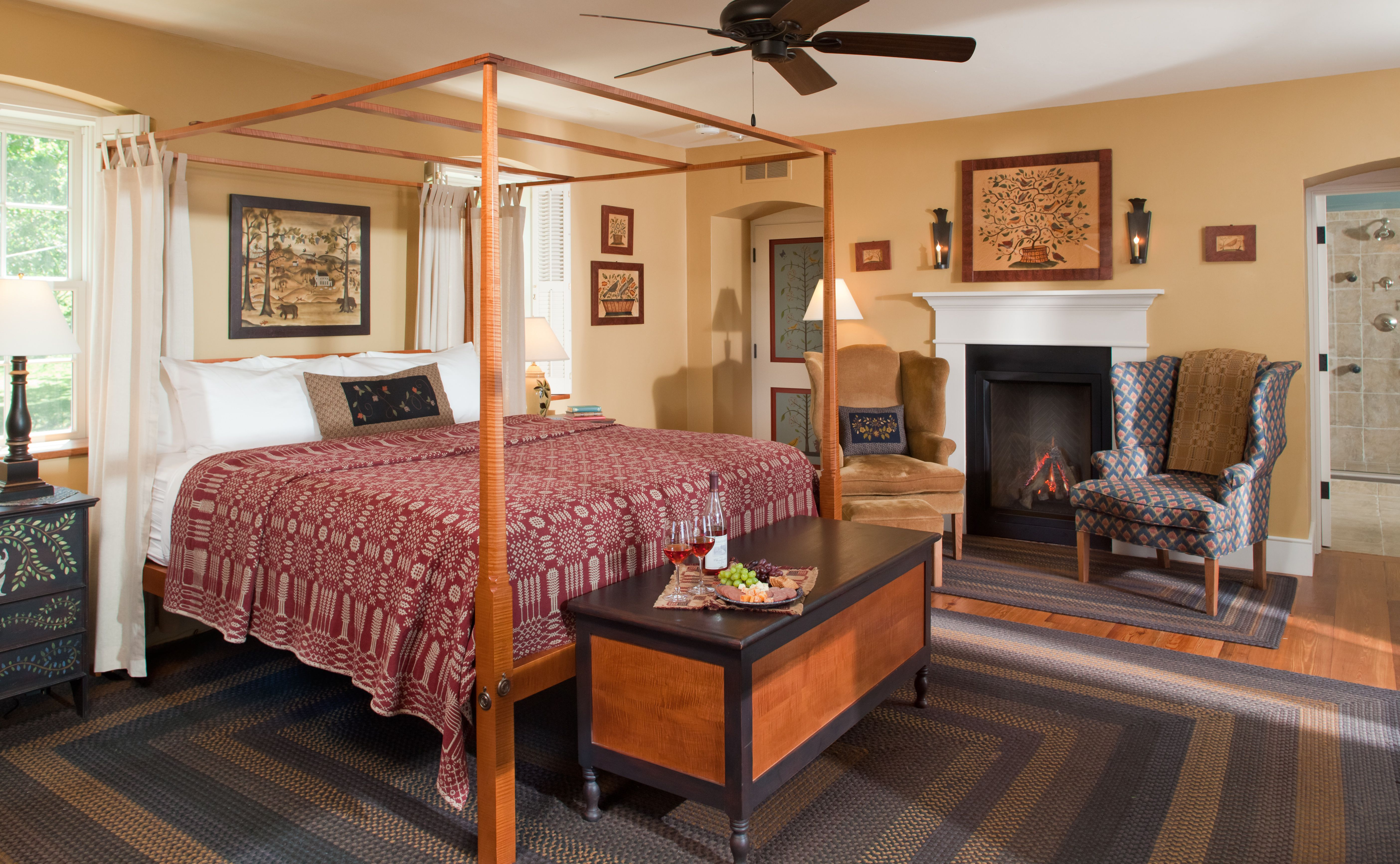 Our Luxury Paradise Suite features great views of the