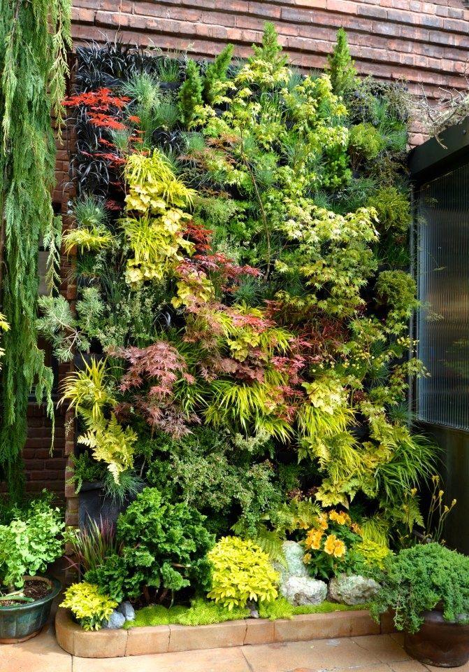 Jardín vertical Jardines verticales Pinterest Jardín vertical - jardineras verticales