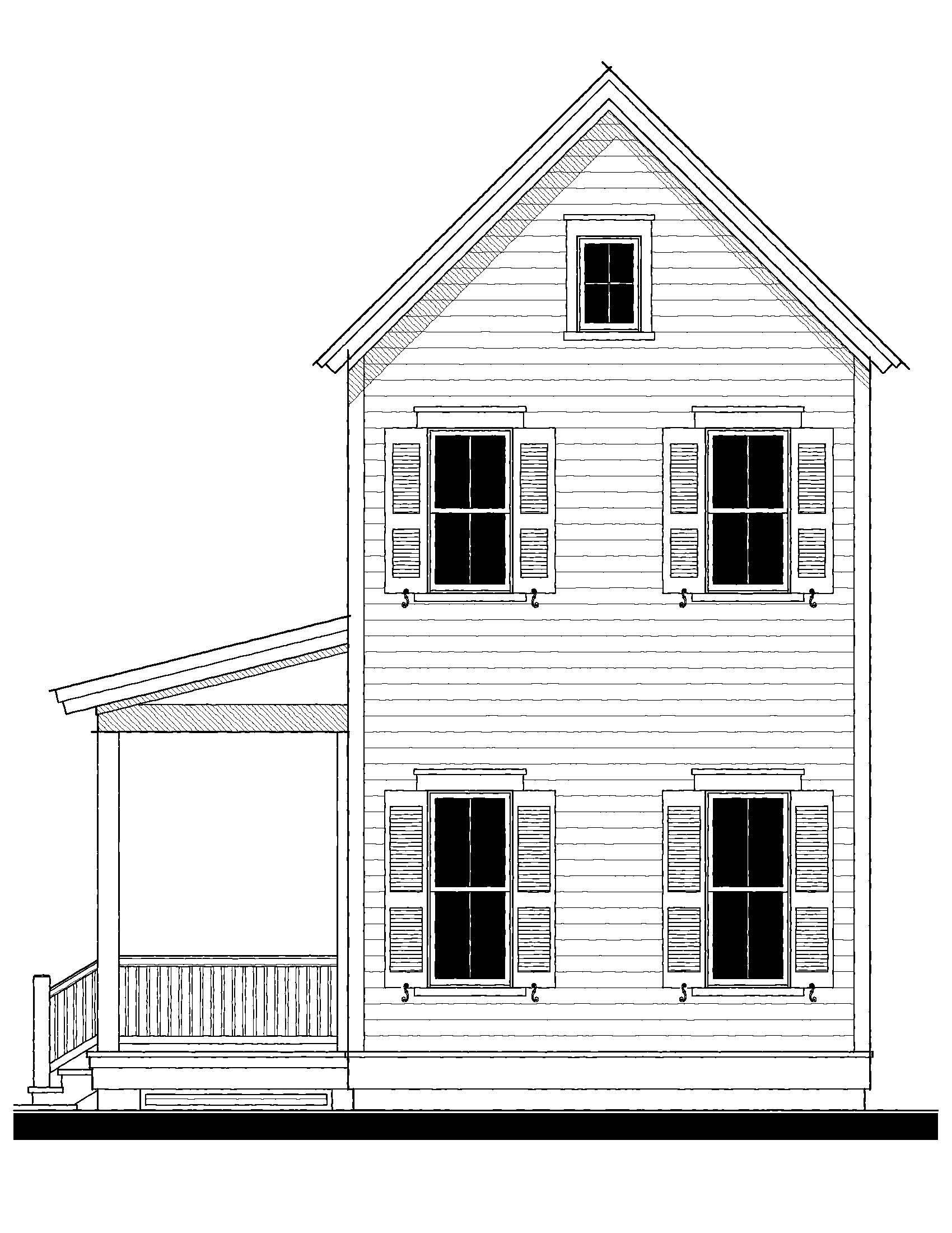 Allendale 2 House Plan 09412B Design from Allison Ramsey – Allison Ramsey Garage Plans