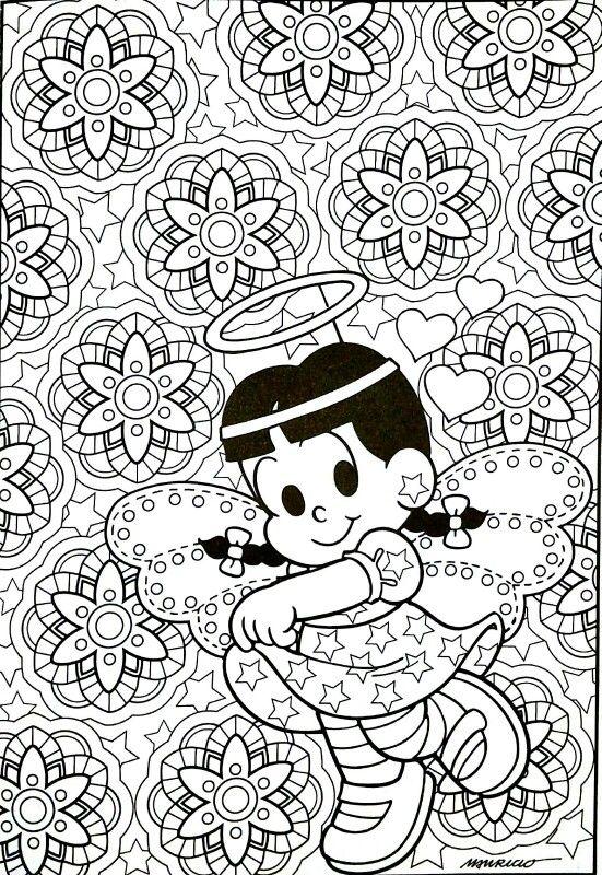 Turma da Monica | Desenhos para colorir. | Pinterest | Pintar ...
