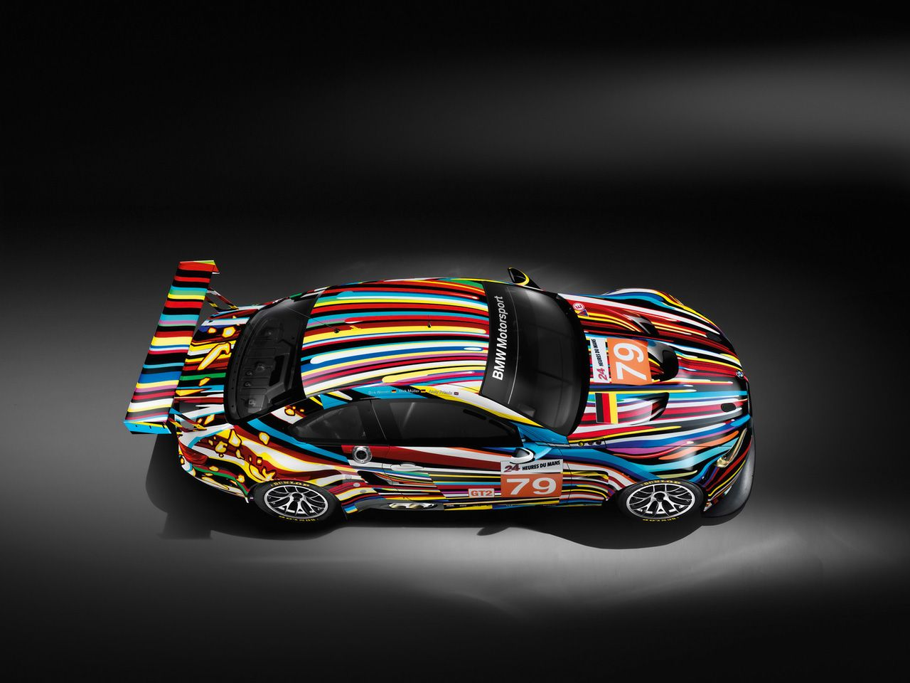 Bmw M3 Gt2 Art Car By Jeff Koons With Images Bmw Art Car Art