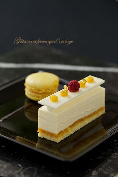 Cheesecake (Orange taste)