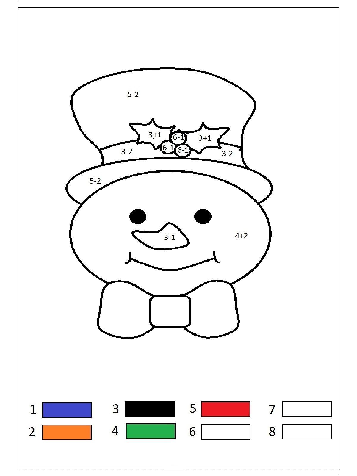 sayı boyama Çalışması  okul Öncesi sayı boyama etkinliği