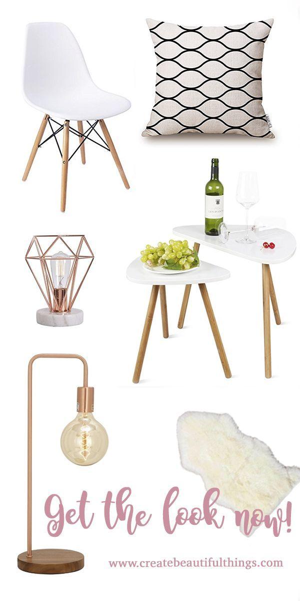 Easy Scandinavian Interior Design Styleguide #homedecoraccessories