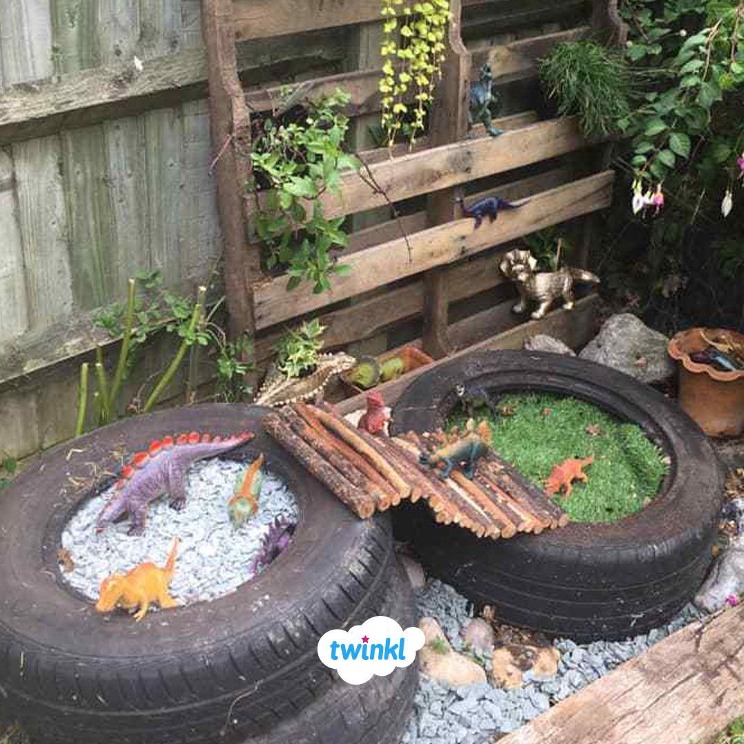 Diy Dinosaur Garden Create An Interactive Garden For A