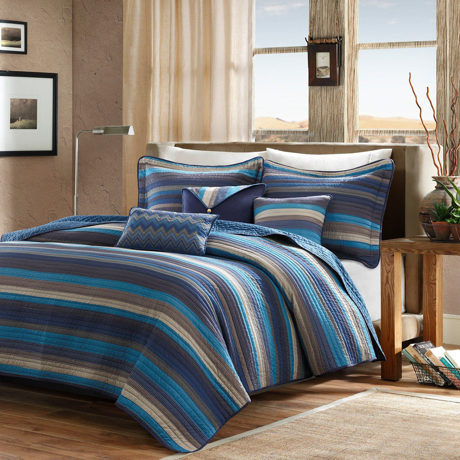 Madison Park Apartments California: Yosemite Quilted Coverlet Set By Madison Park