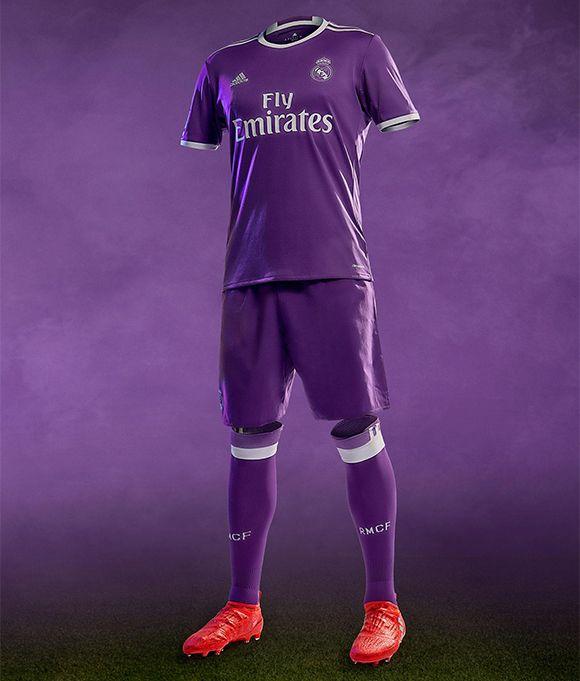 Real Madrid também terá segundo uniforme roxa na próxima temporada f9a89d58db22d