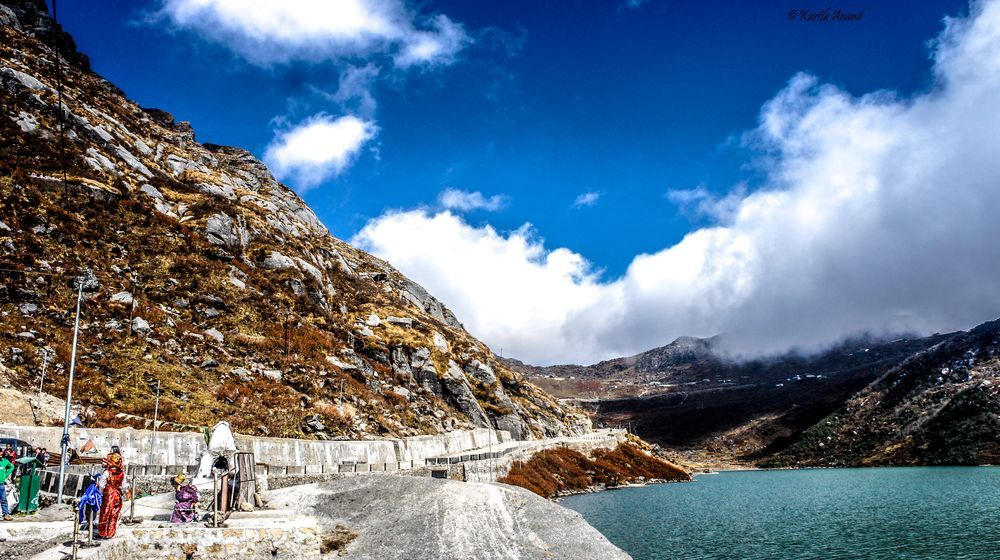 The clouds await! Photo by Kartik Anand -- National Geographic Your Shot