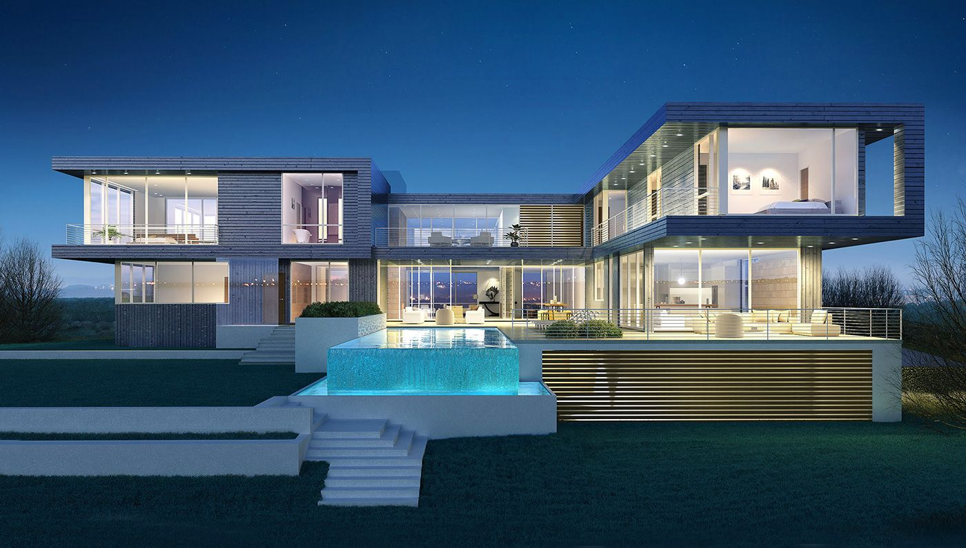 Robb report features bespoke real estates modern masterpiece 190 fowler street the home listed at 33 million sits on a 2 8 acre lot in southampton