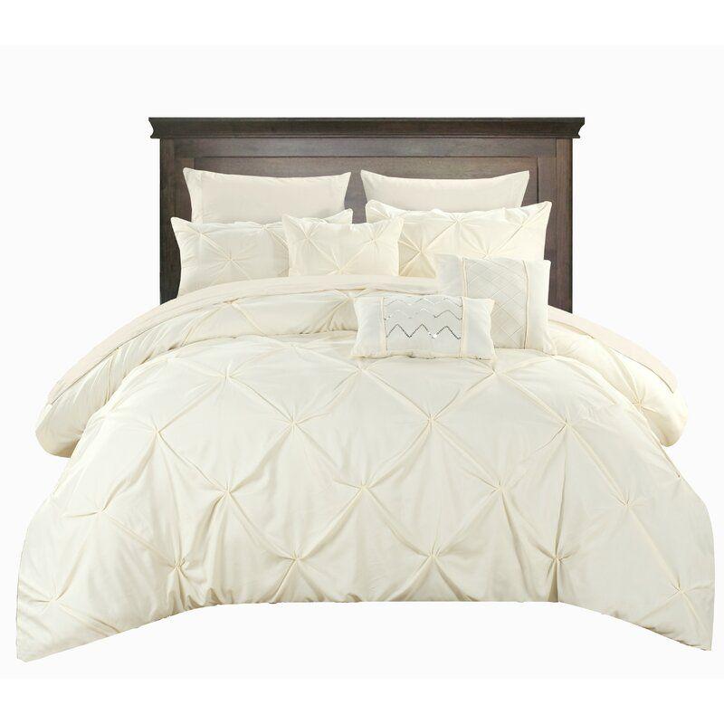 Willa Arlo Interiors Yamna Comforter Set Reviews Wayfair Chic Home Design Comforter Sets King Comforter Sets