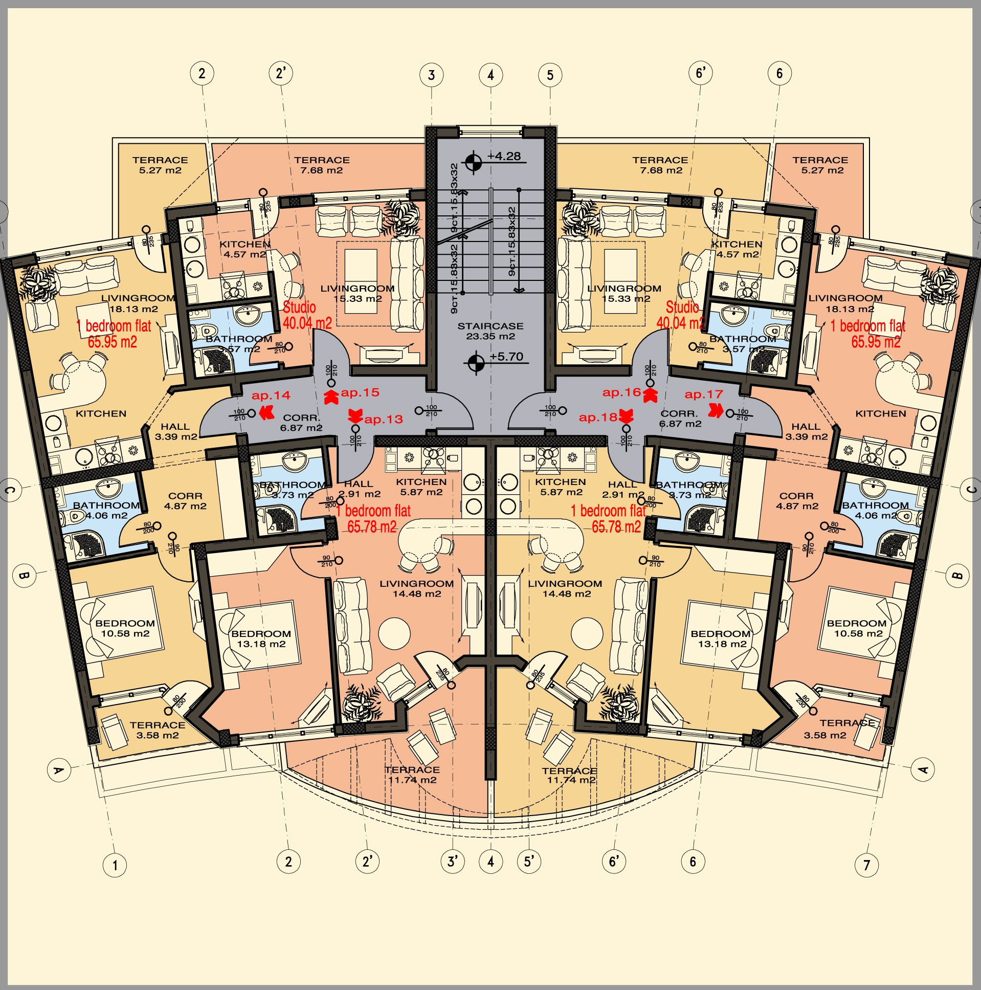 Apartment Building Floor Plans Picturesque Decoration Home Tips Or ...