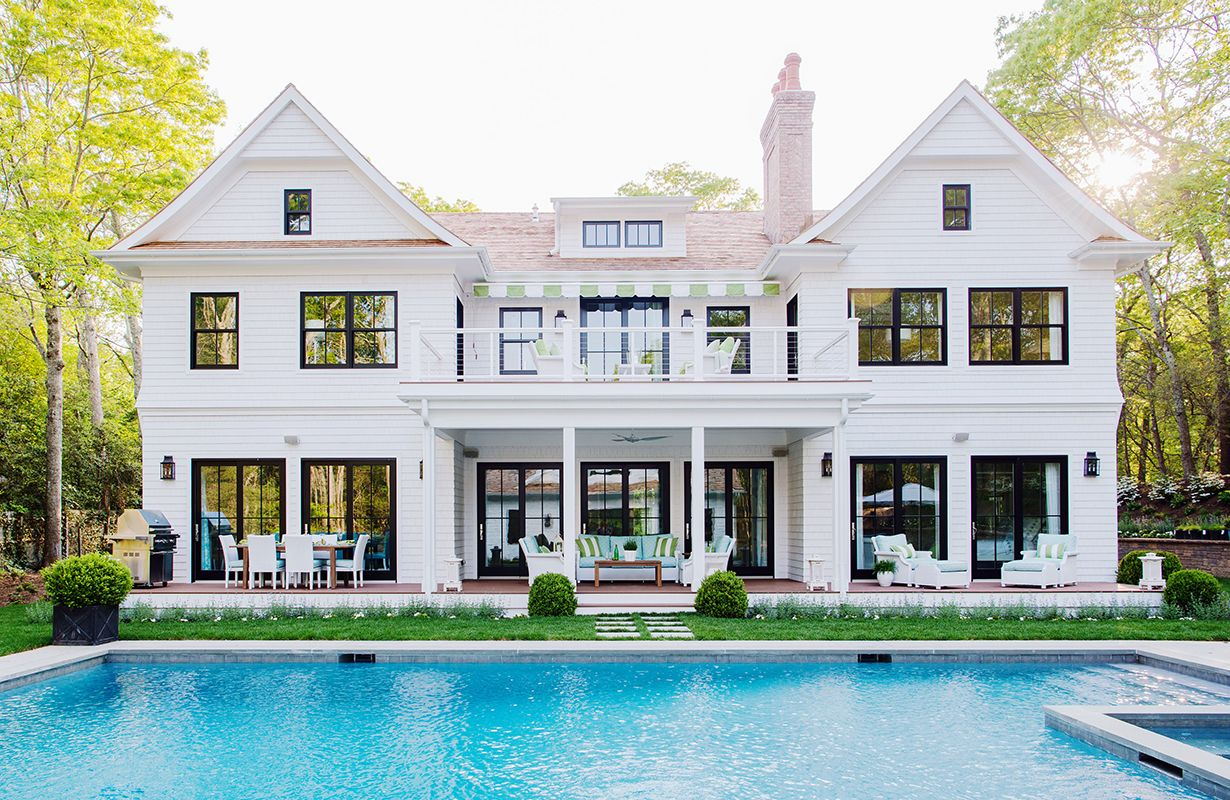 14 Stunning Exteriors with Steel Frame WindowsBECKI OWENS