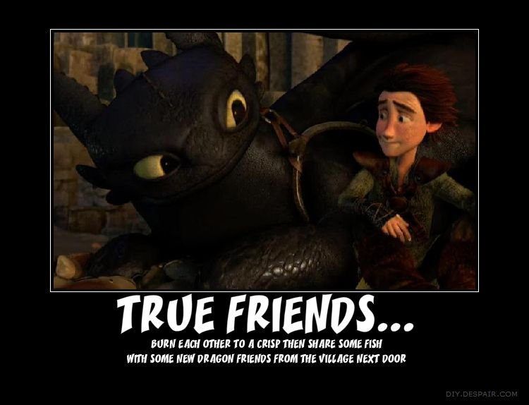 Hiccup,Toothless, True Friends by HTTYDlover12 deviantart