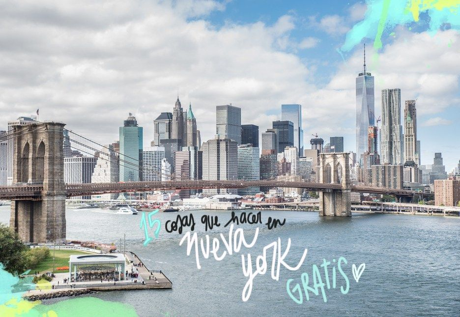 15 cosas que hacer en nueva york gratis  nueva york