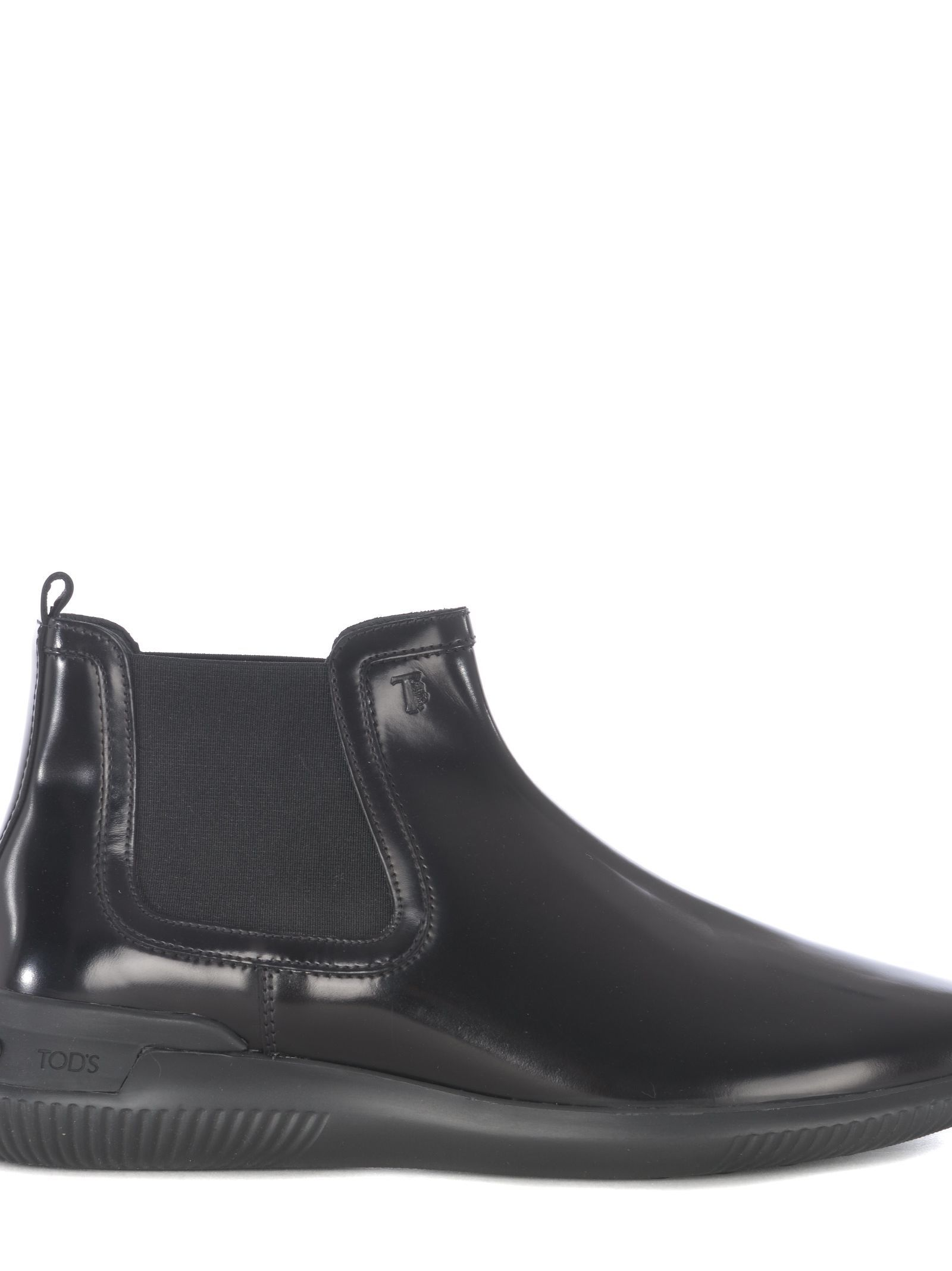 385e05abba TOD'S SMOOTH LEATHER ANKLE BOOTS. #tods #shoes | Tod'S | Leather ...