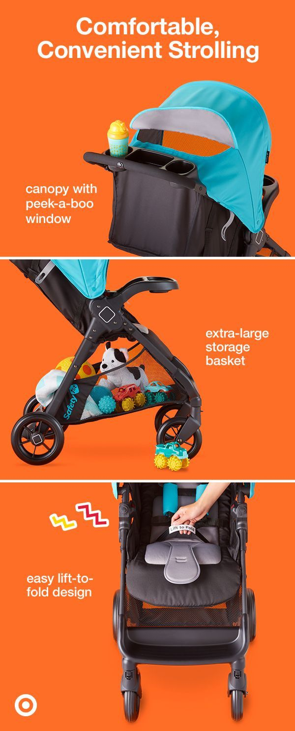 Safety 1st Smooth Ride Travel System makes strolling easy