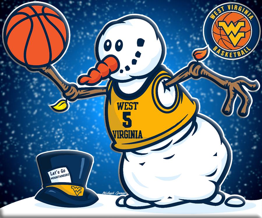 Let's Gooooooo MOUNTAINEERS!! W.V.U. Basketball West