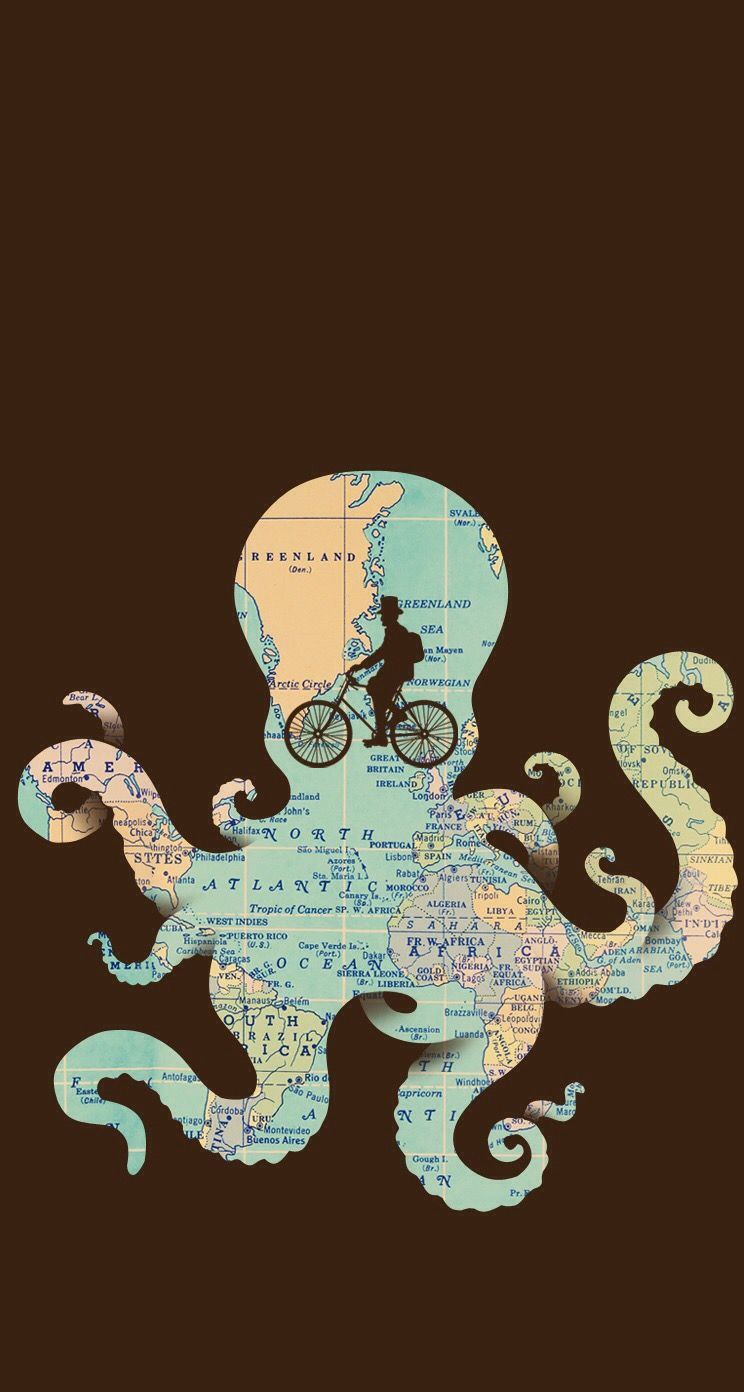 Octopus, Iphone Wallpapers, Beautiful Pictures, Mountain, Biking,  Bicycling, Cycling Tours, Cycling, Iphone Backgrounds