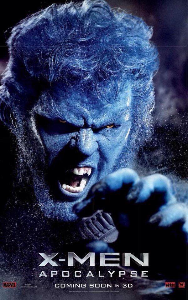 X Men Apocalypse Nicholas Hoult As Hank Mccoy Beast Apocalypse Movies X Men Apocalypse Apocalypse Character