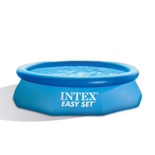 #Pools #INTEX #28122SZ Intex 28122 Aufblasbar Rund Blau Aufstellpool Intex  Pool Easy Set
