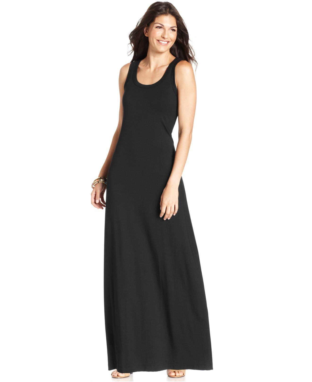 Karen Kane Scoop Neck Maxi Dress Dresses Women Macy S Maxi Dress Womens Dresses Dresses [ 1616 x 1320 Pixel ]