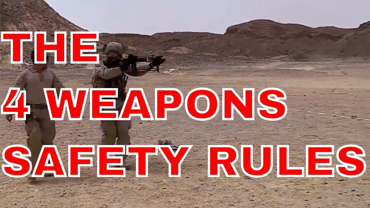 Marine Corps Weapon Safety Rules Safety rules, Infantry