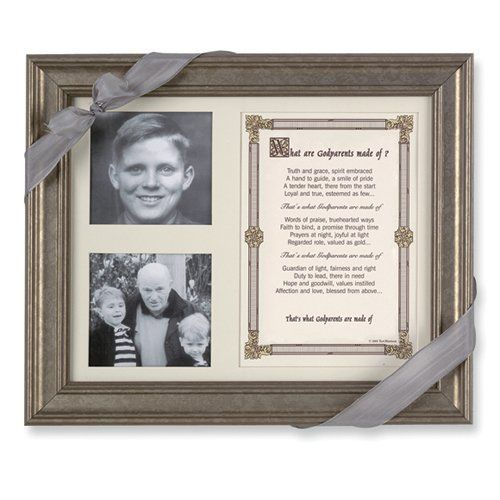 What Are Godparents Made of Poem and 8x10 Photo Frame by West Coast ...