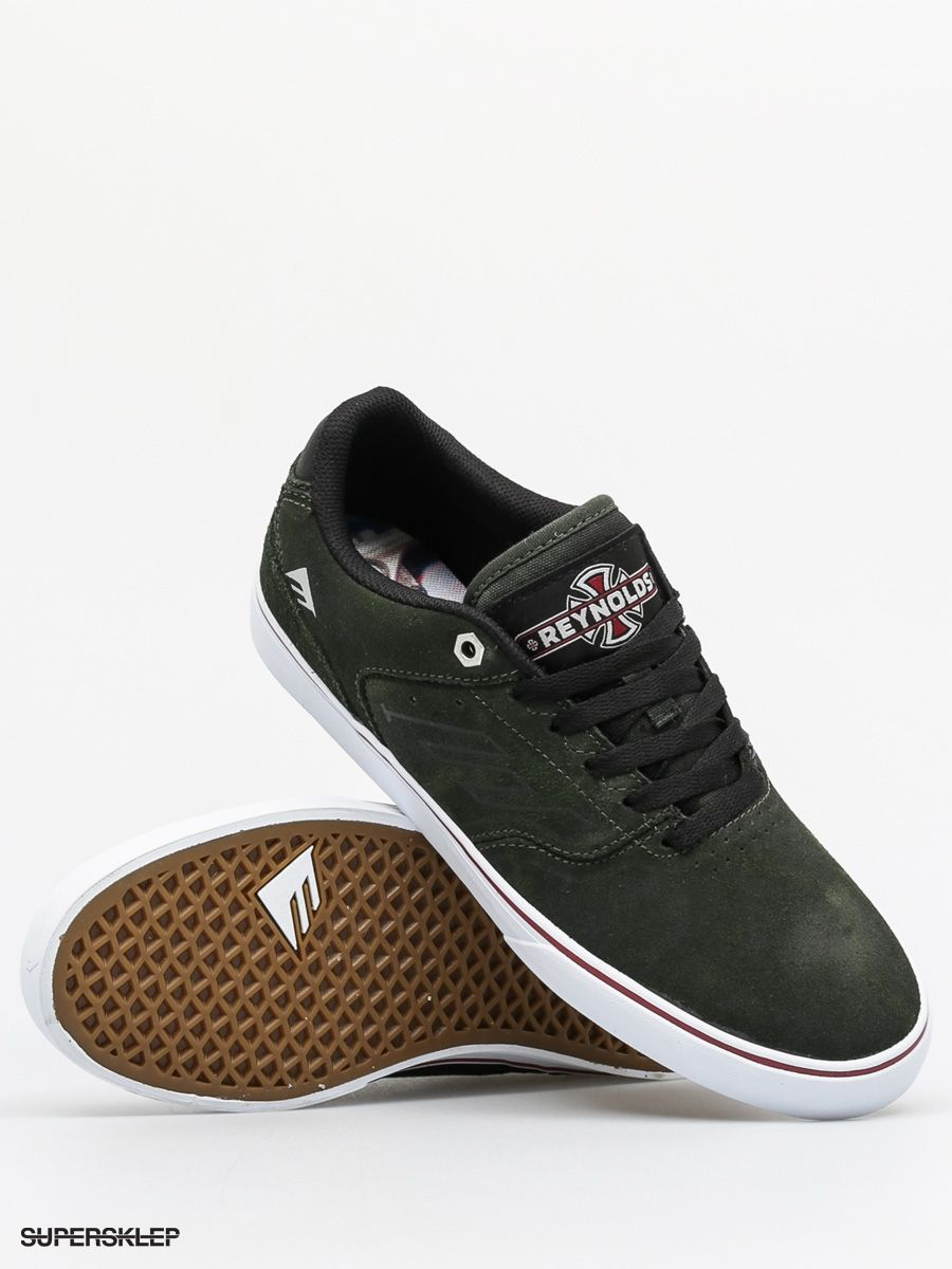 Topánky Emerica The Reynolds Low Vulc X Indy (dark green)