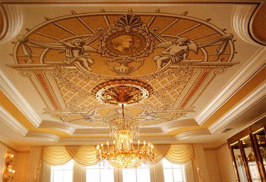 classic murals ceiling decorations trompe l 39 oeil