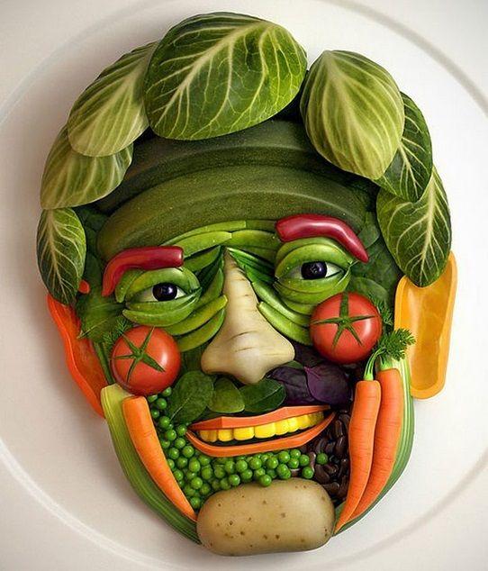 udskæring af frugt og grønt