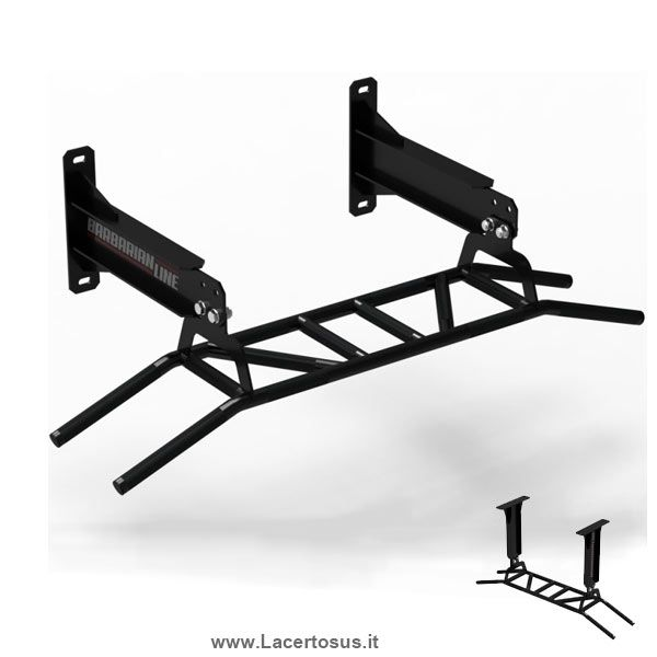 Barbarian Line Multi-Sbarra trazioni Muro/Soffitto - For wall / ceiling - Pull-up bars ...