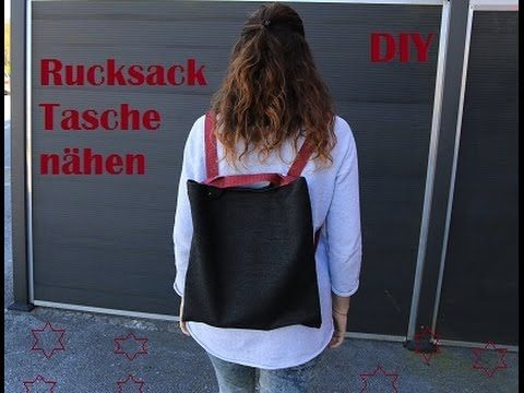 diy rucksack tasche n hen 2in1 easypeasy rucksack und umh ngetasche youtube bolsos. Black Bedroom Furniture Sets. Home Design Ideas