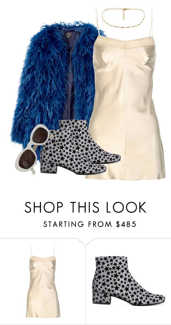 """lady grinning soul"" by meowstripes ❤ liked on Polyvore featuring Jean Yu and Yves Saint Laurent"