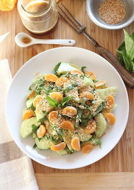 Arctic Garden Studio: Lime, Basil, and Mandarin Salad