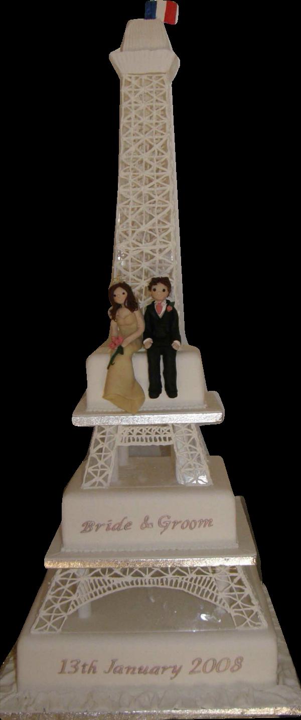 eiffel tower wedding cakes - 5000+ Simple Wedding Cakes