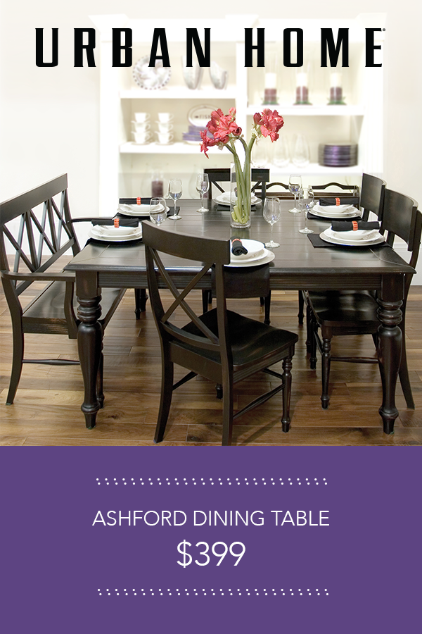 The Urban Home Ashford Dining Table Is Chic For At