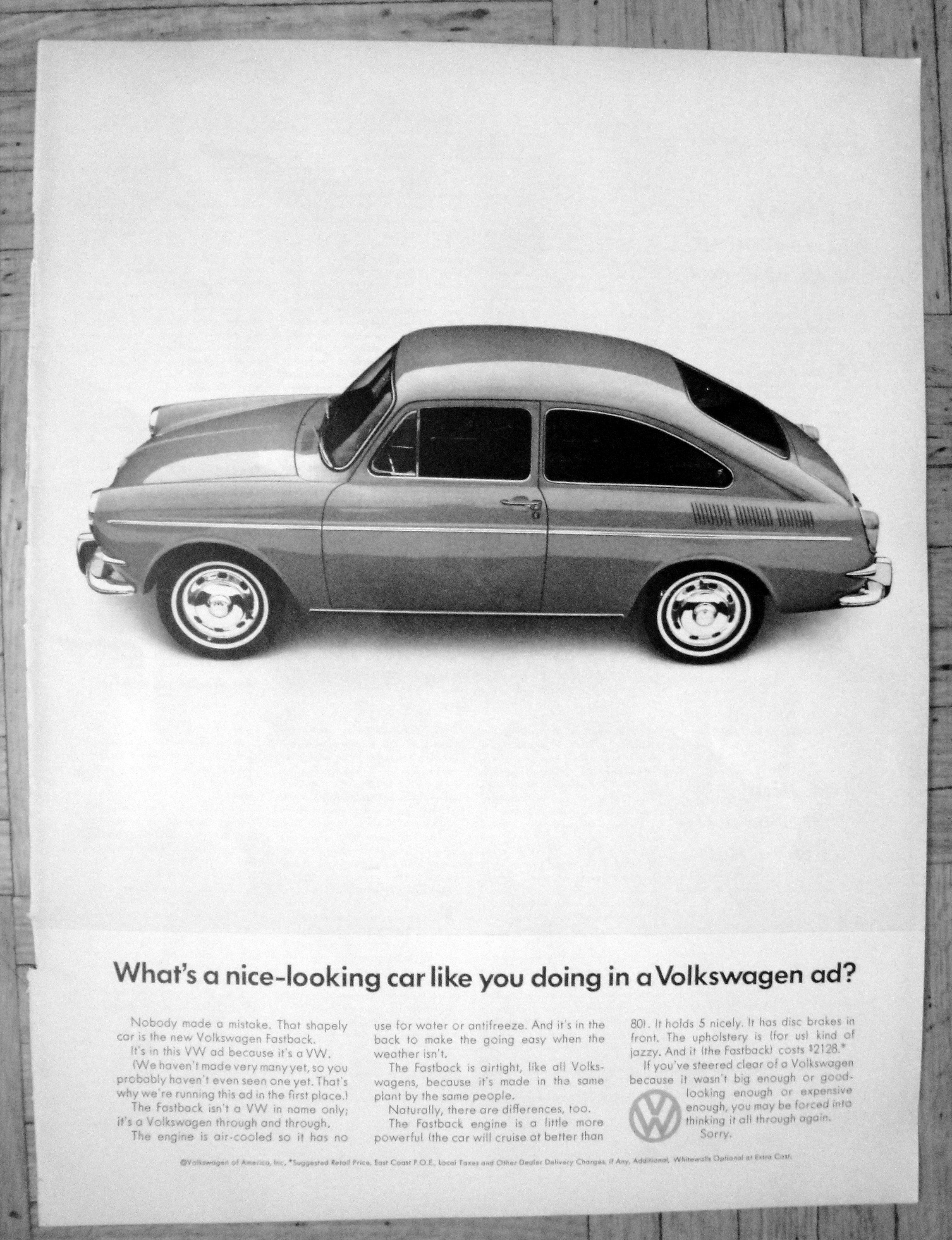 1966 VW Fastback-What's A Nice Looking Car-Original 13 5