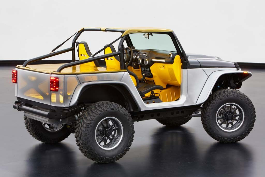 As Close As We Can Get To A Cart For The Streets And The Sand Easter Jeep Safari Jeep Concept 2015 Jeep Wrangler