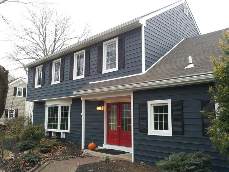 1000 ideas about blue vinyl siding on pinterest siding colors porch ideas pinterest - Cost paint house exterior ideas ...