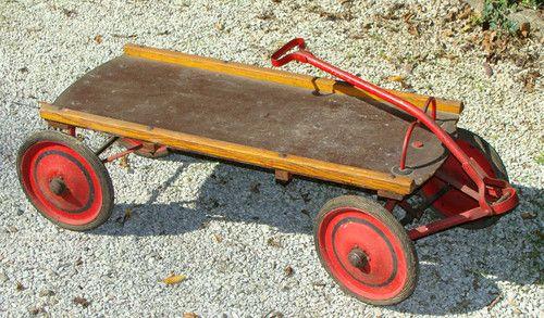Antique Wagon Vintage 1930s Ebay Toy Wagon Antique