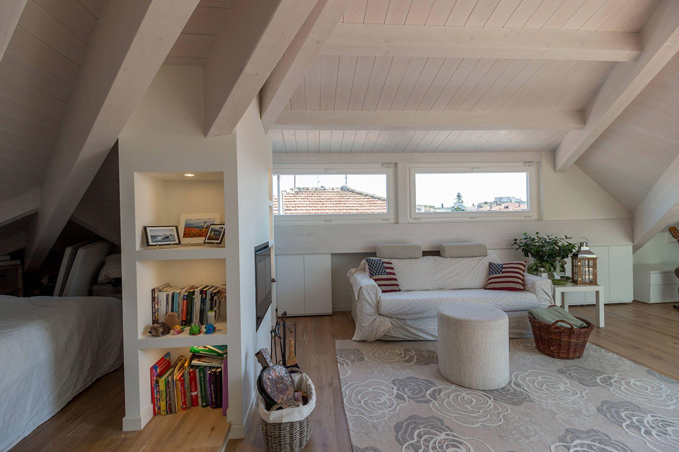 5 Ideas Maravillosas Para La Buhardilla Homify Apartamento De Atico Casas De Campo Interiores Vivir En Casa Pequena