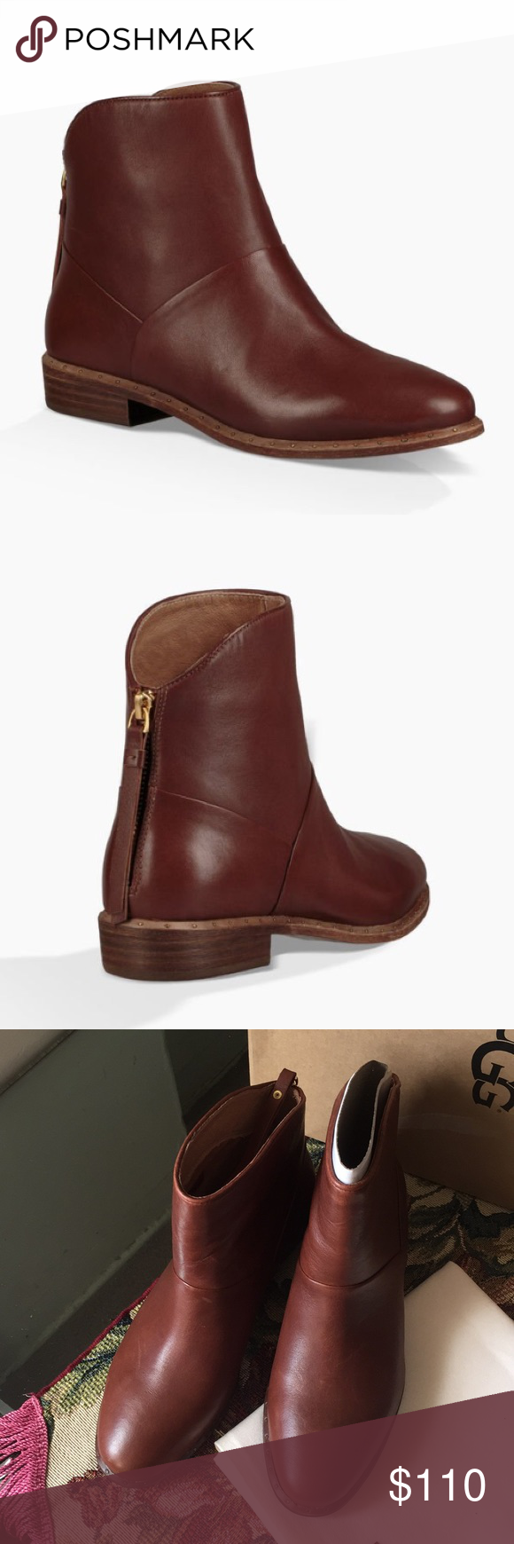 30300e84794 NEW UGG BRUNO. color:MID BROWN Model: 1018942 Impeccably cut from ...