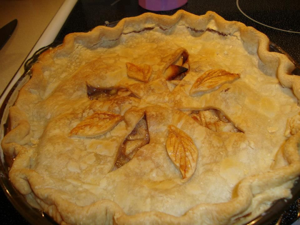 apple pie I made this past Thanksgiving (2012)